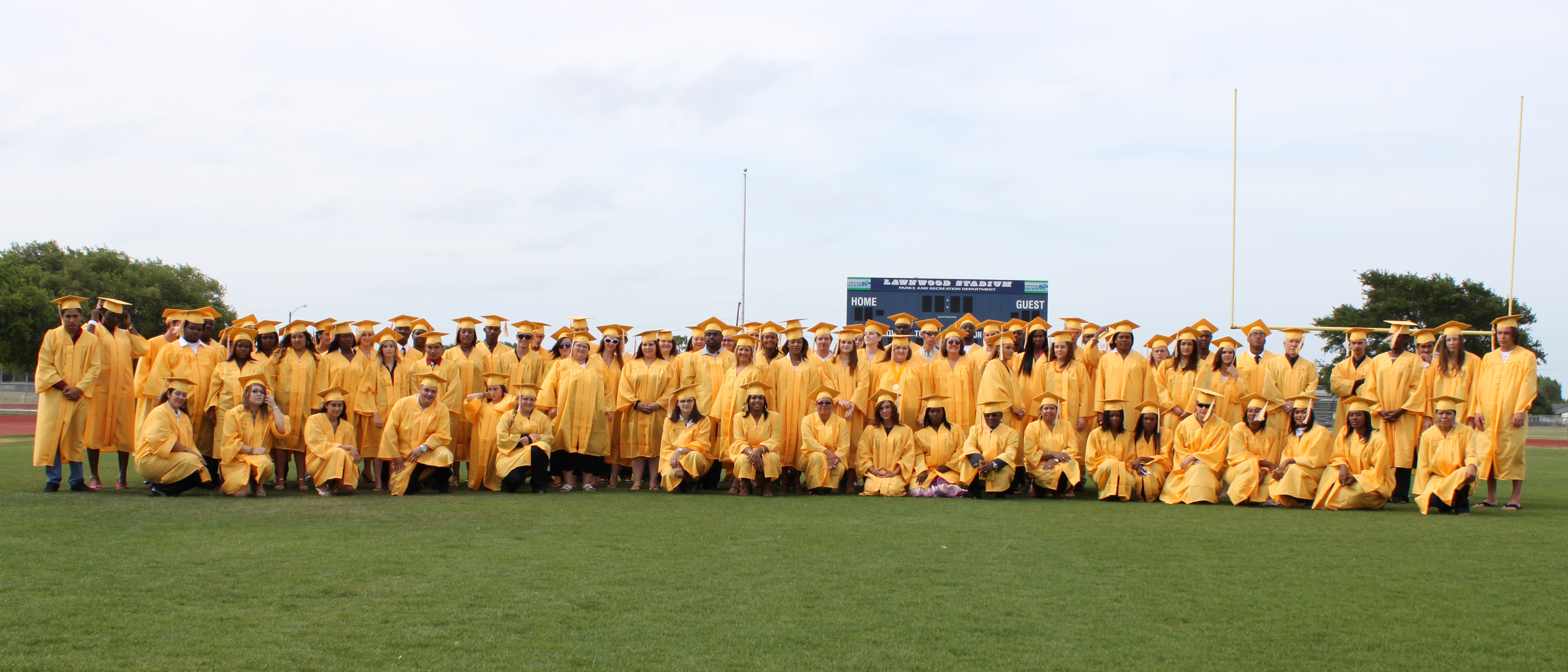 St. James Academy Graduating Class of 2009-2010